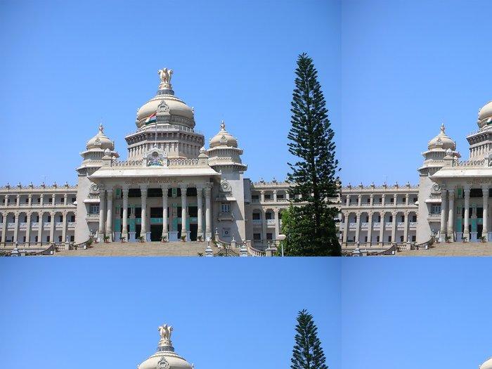 Vinylová Tapeta Vidhana Soudha, Landmark Architektura v Bangalore - Asie