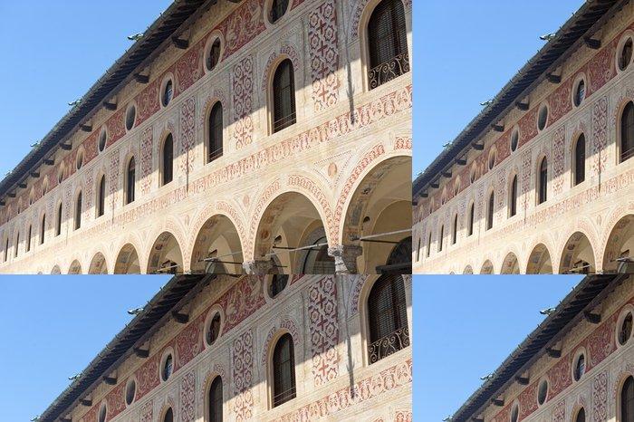 Tapeta Pixerstick Vigevano Piazza Ducale - Památky