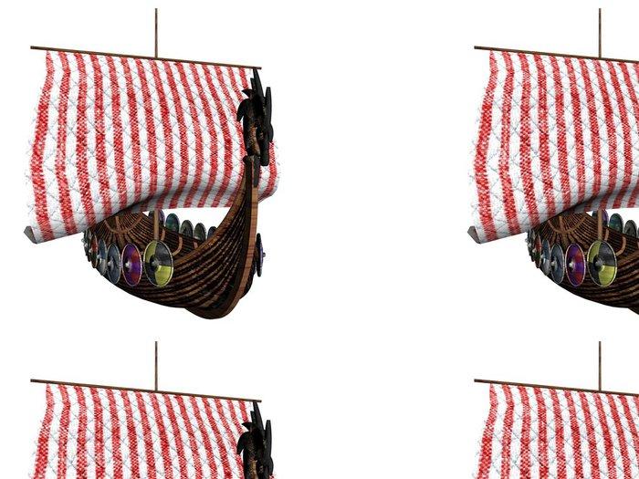 Tapeta Pixerstick Viking tři - Lodě