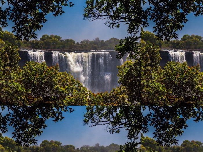 Vinylová Tapeta Viktoriiny vodopády - Afrika