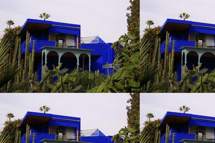 Tapeta Pixerstick Vila Majorelle au Maroc - Soukromé budovy