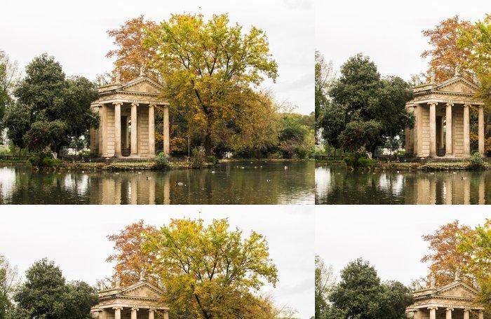 Tapeta Pixerstick Villa Borghese v Autunno - Roma - Evropská města