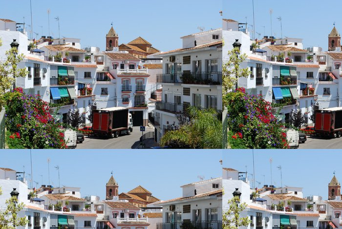Tapeta Pixerstick Village ulice, Torrox, Andalusia, Spain © Arena Photo UK - Témata