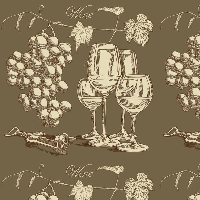 Tapeta Pixerstick Víno pozadí - Alkohol