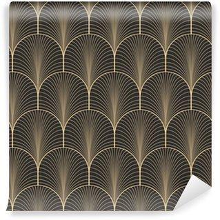 Vinylová Tapeta Vinobraní starožitných paleta seamless art deco tapeta vzor vektor