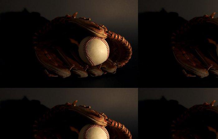 Tapeta Pixerstick Vintage baseball - Týmové sporty