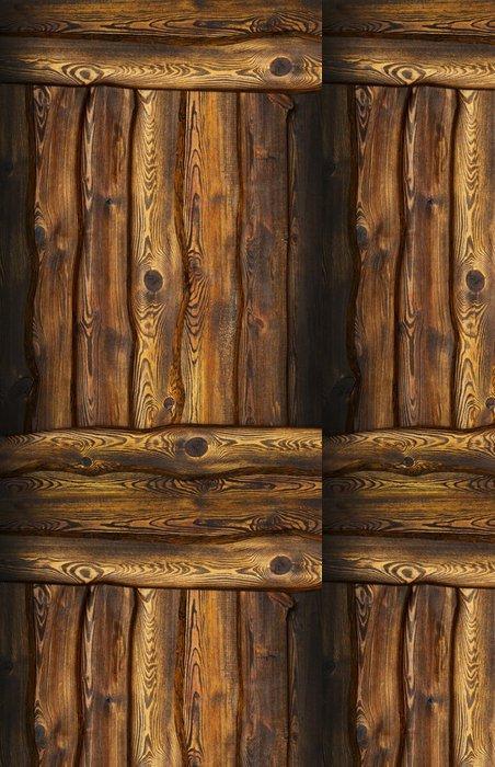 Tapeta Pixerstick Vintage dřevěné pozadí. - Struktury
