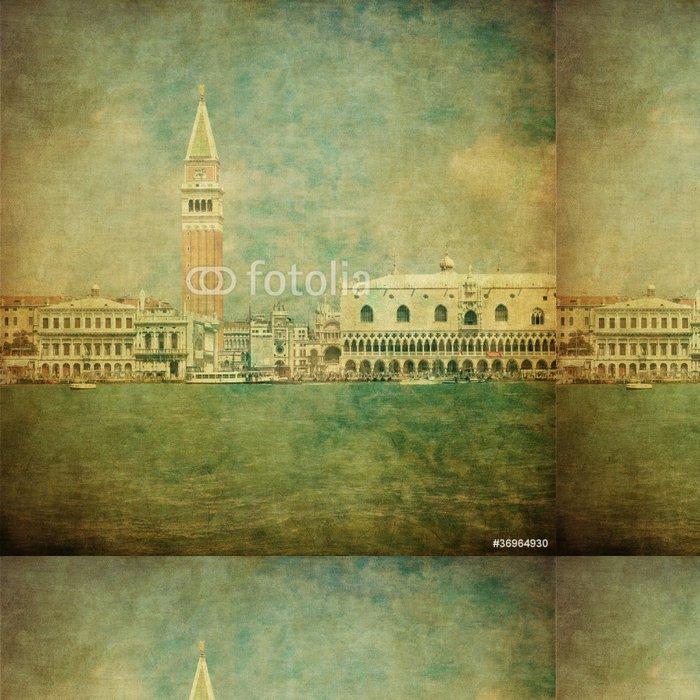 Tapeta Pixerstick Vintage image of Venice, Italy - Evropská města