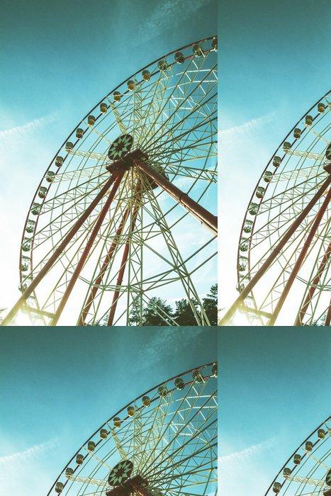 Tapeta Pixerstick Vintage Retro Ferris Wheel - Situace v podnikání