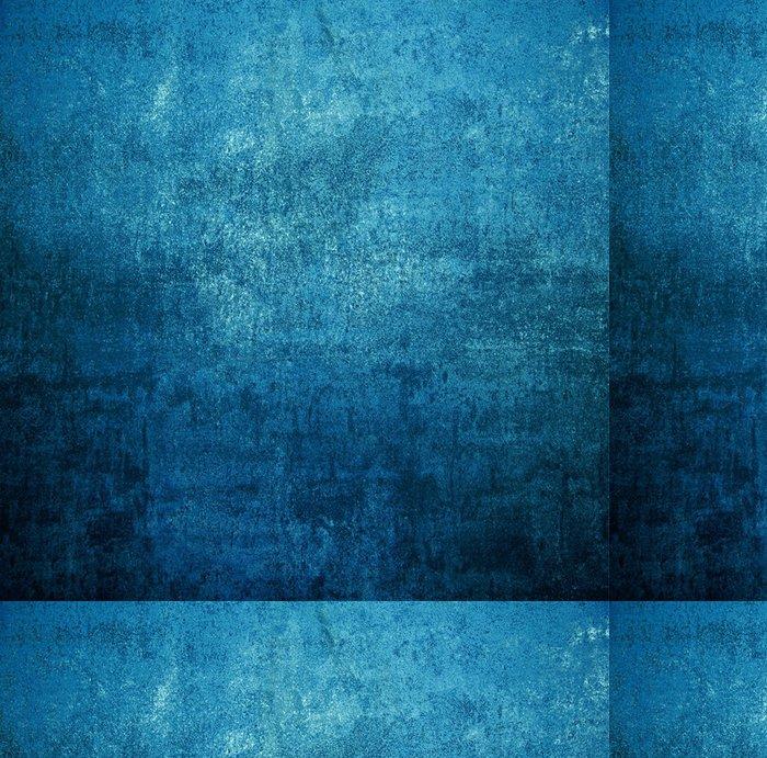 Vinylová Tapeta Vintage ruggine blu - iStaging