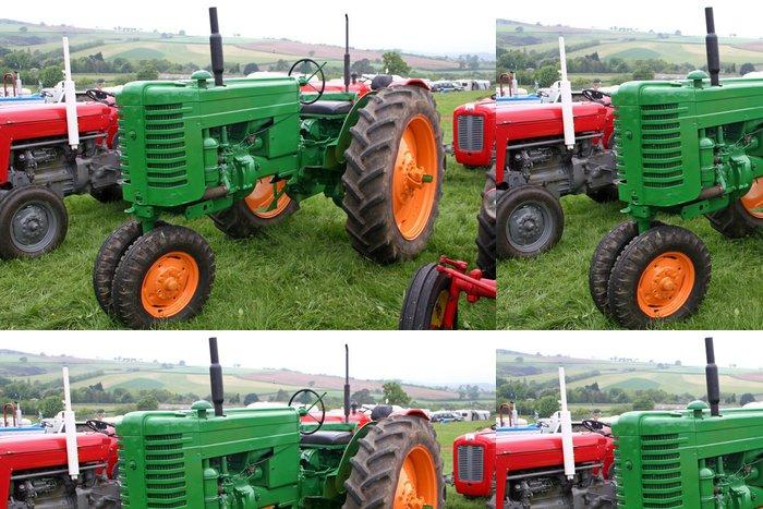 Tapeta Pixerstick Vintage traktory - Zemědělství