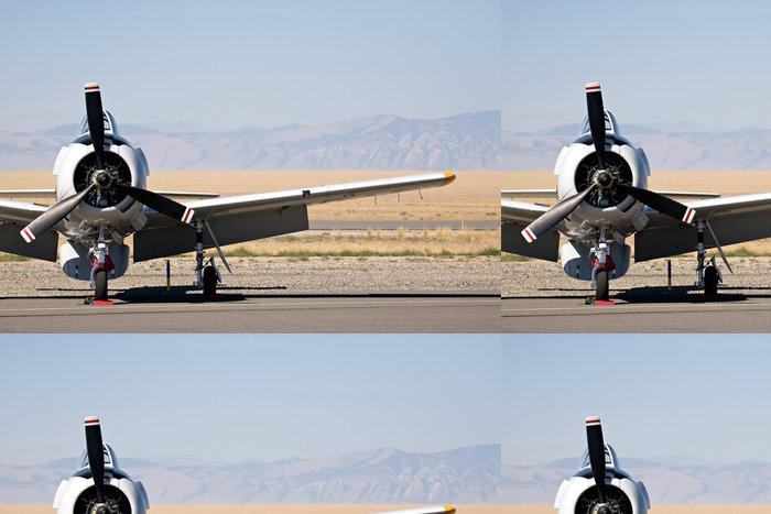 Tapeta Pixerstick Vintage vojenská letadla - Témata