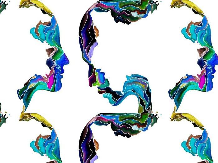Tapeta Pixerstick Virtuální Self Fragmentace -