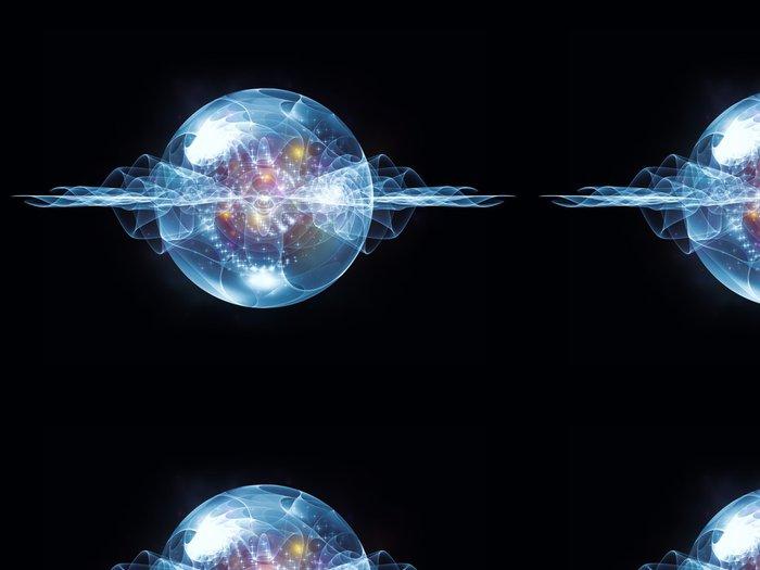 Tapeta Pixerstick Virtuální Wave částic - Abstraktní