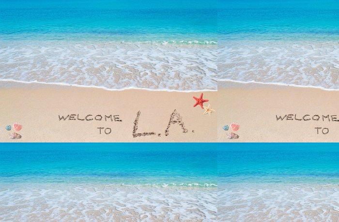 Tapeta Pixerstick Vítejte v LA - Americká města