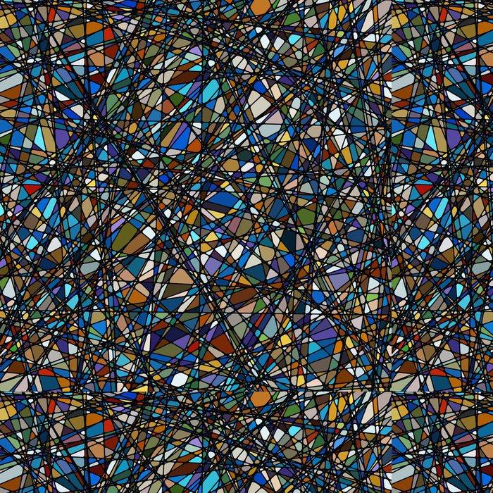 Vinylová Tapeta Vitráže textury ve fialovém tónu. Eps 8 - Umění a tvorba