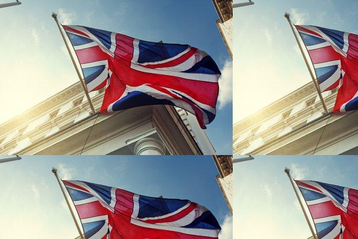 Tapeta Pixerstick Vlajka Velké Británie na vládní budovy - Evropská města