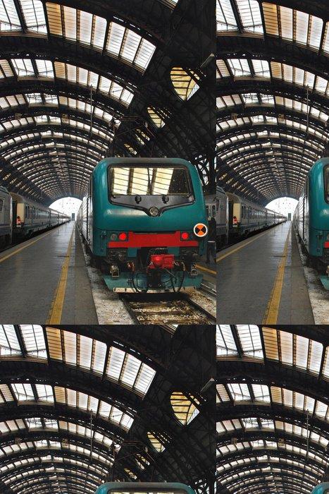 Tapeta Pixerstick Vlak - Nádraží a metro
