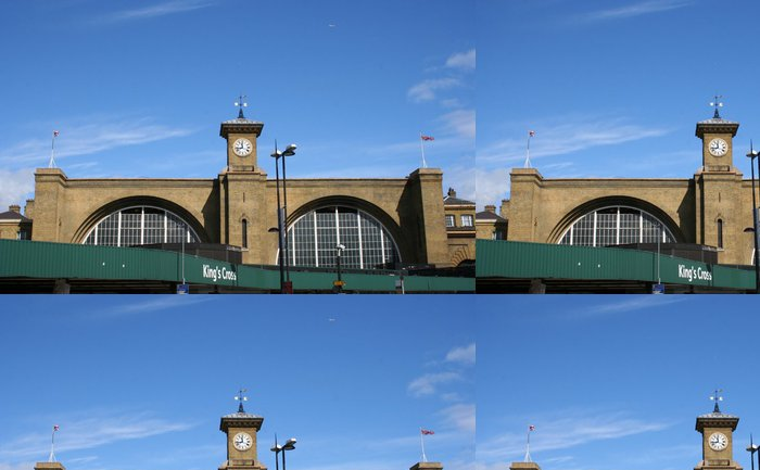 Tapeta Pixerstick Vlakové nádraží Kings Cross, Londýn - Evropská města