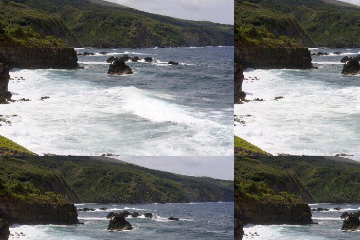 Tapeta Pixerstick Vlny oceánu - Voda