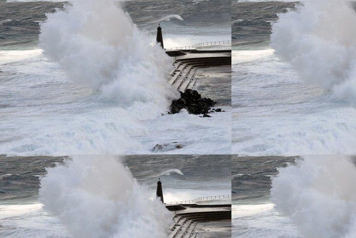 Tapeta Pixerstick Vlny - Přírodní katastrofy