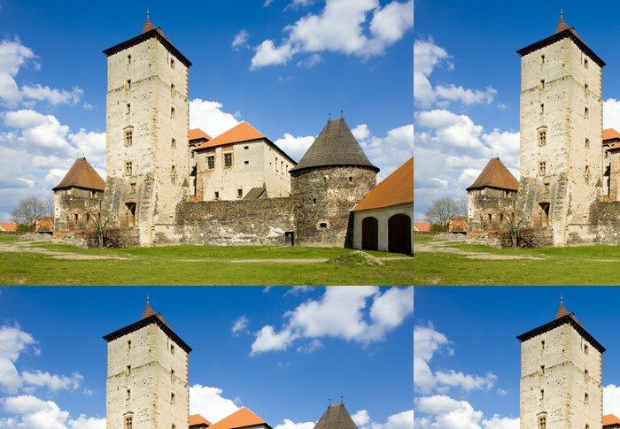 Tapeta Pixerstick Vodní hrad Švihov, Česká republika - Evropa