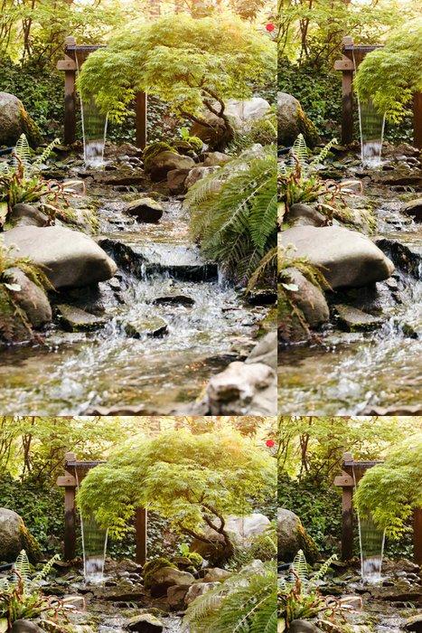 Vinylová Tapeta Vodní pramen v lese - Voda