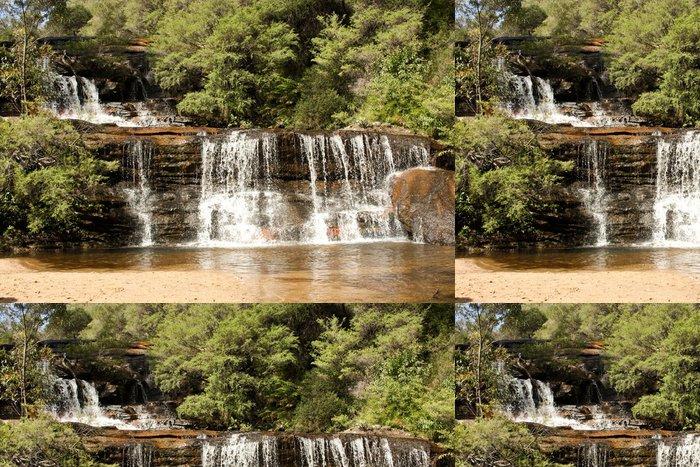 Tapeta Pixerstick Vodopád Kaskády, Blue Mountains, Sydney, Austrálie - Témata
