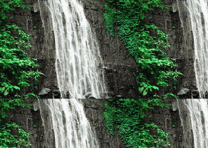 Vinylová Tapeta Vodopád v africké džungli - Afrika