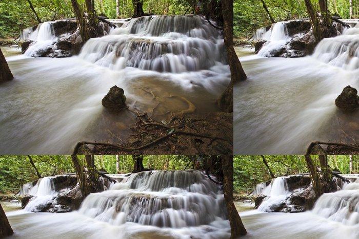 Tapeta Pixerstick Vodopád v Kanchanaburi - Asie
