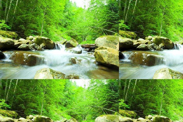 Tapeta Pixerstick Vodopád - Voda