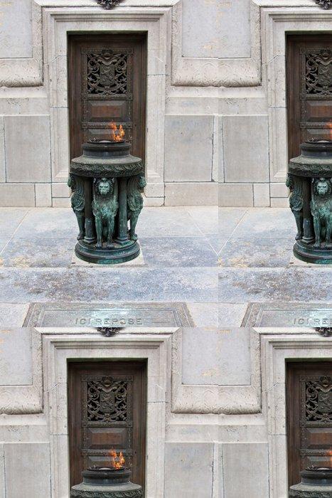 Tapeta Pixerstick Voják památka v Bruselu - Památky
