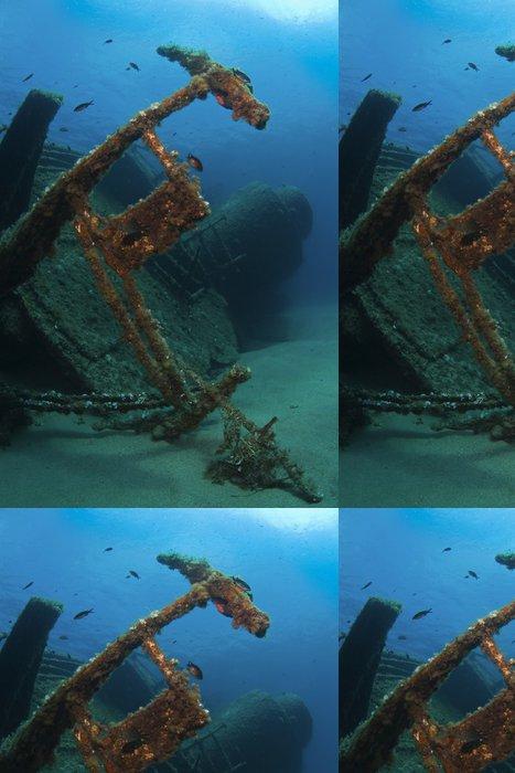 Tapeta Pixerstick Vrak lodi - Podvodní svět
