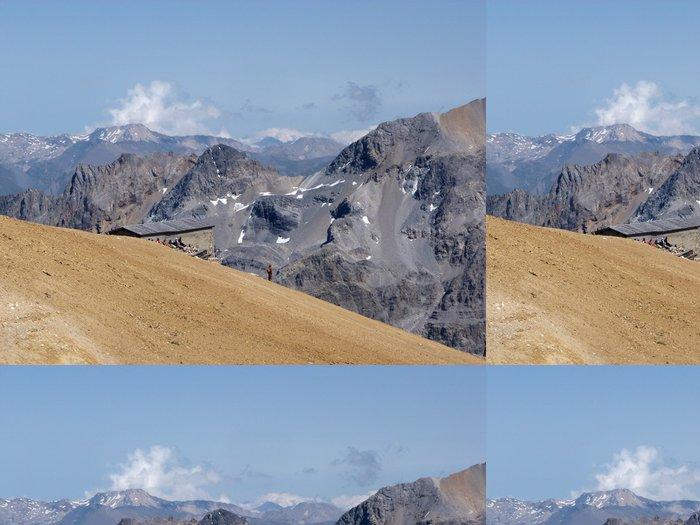Tapeta Pixerstick Vrchol hory Tábor - Evropa