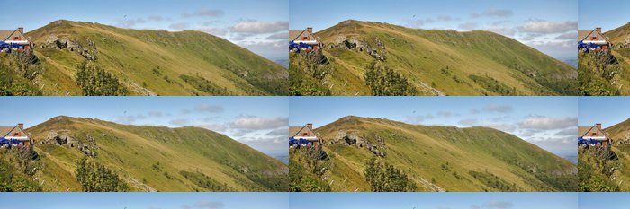 Tapeta Pixerstick Vrcholek hory - Prázdniny