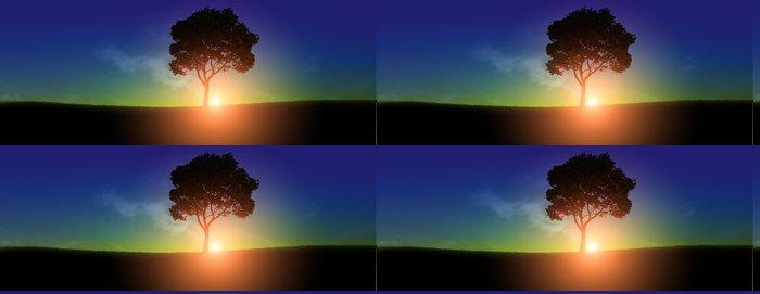 Tapeta Pixerstick Východ slunce - Nebe