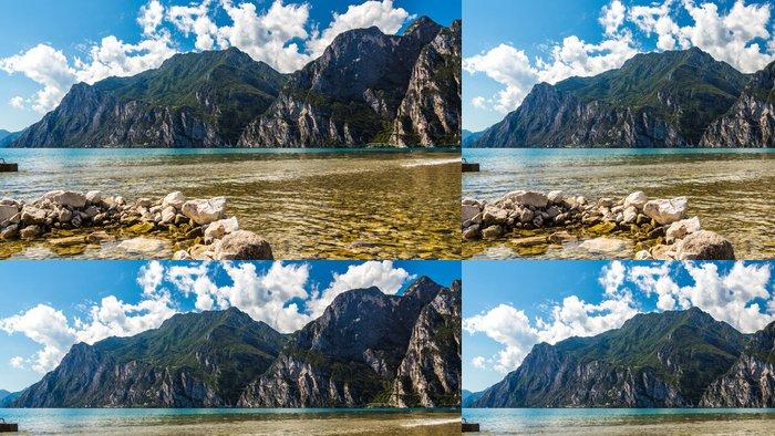 Tapeta Pixerstick Výhled na jezero - Evropa