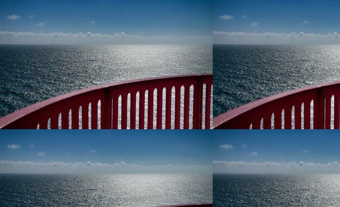 Tapeta Pixerstick Výhled na oceán s madlem - Infrastruktura