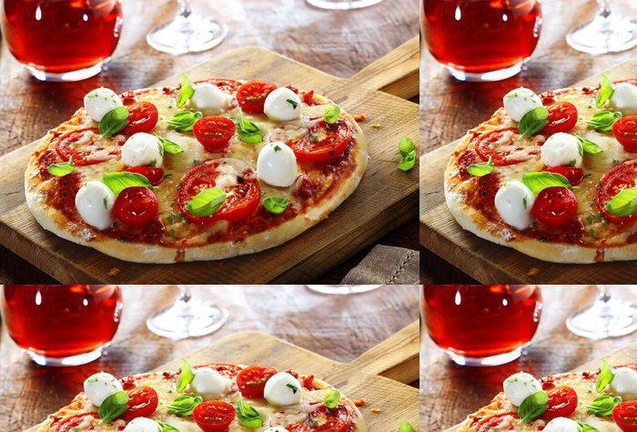 Tapeta Pixerstick Vynikající domácí italská pizza - Témata