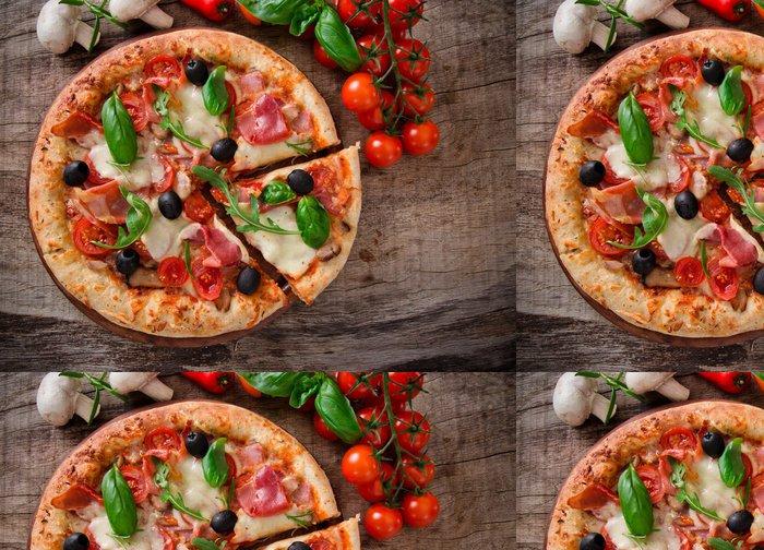 Tapeta Pixerstick Vynikající italská pizza - Témata