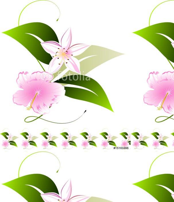Tapeta Pixerstick Výprava květinovými - Roční období