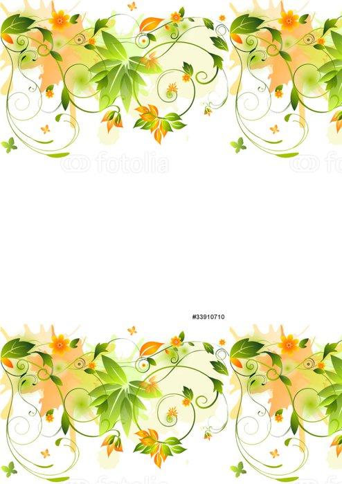 Tapeta Pixerstick Výprava květinovými - Pozadí