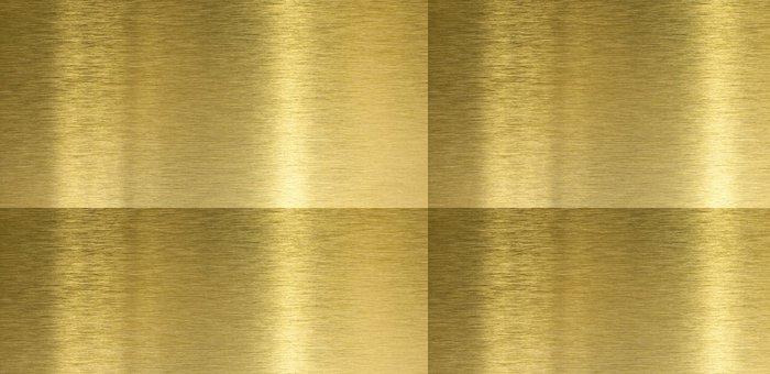 Vinylová Tapeta Vysoce kvalitní kartáčované mosazi textura s odrazem světla - Struktury