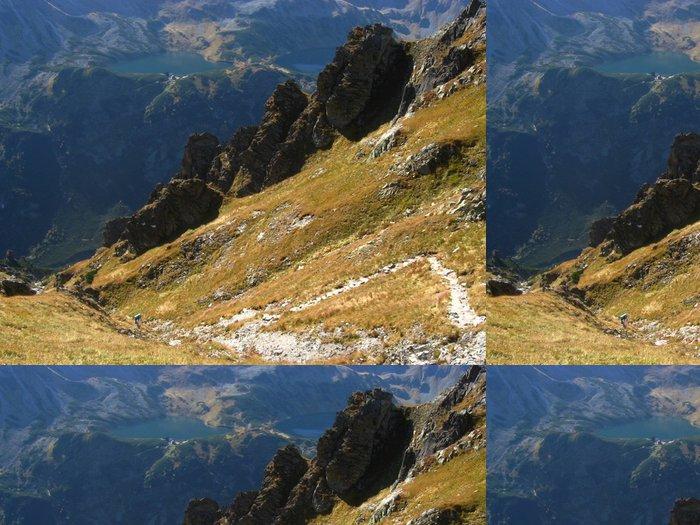 Tapeta Pixerstick Vysoké horské krajiny - Hory