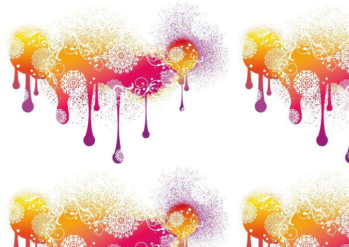Tapeta Pixerstick Výstřední malování, abstraktní vektor pozadí - Mezinárodní svátky