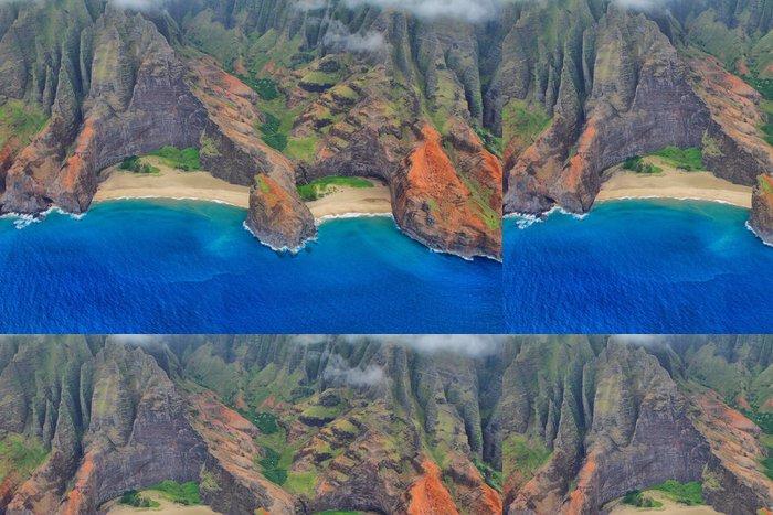 Tapeta Pixerstick Vzdušné pohledy na ostrov Kauai na západním pobřeží - Amerika
