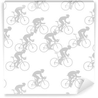 Vinylová Tapeta Vzor řidiče jízdních kol
