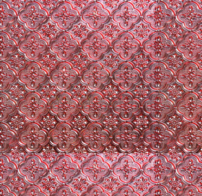 Tapeta Pixerstick Vzor z červeného skla textury. - Struktury