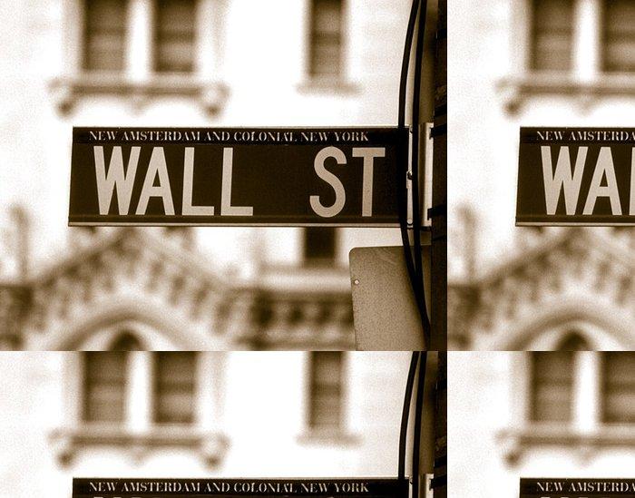 Tapeta Pixerstick Wall street - Finance
