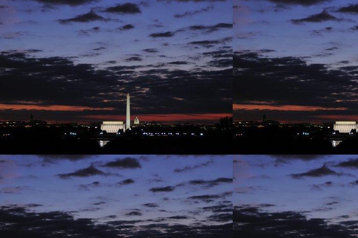 Vinylová Tapeta Washington DC panorama - Památky